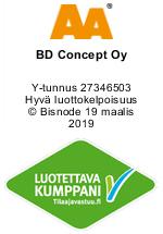 BD Concept Oy logo